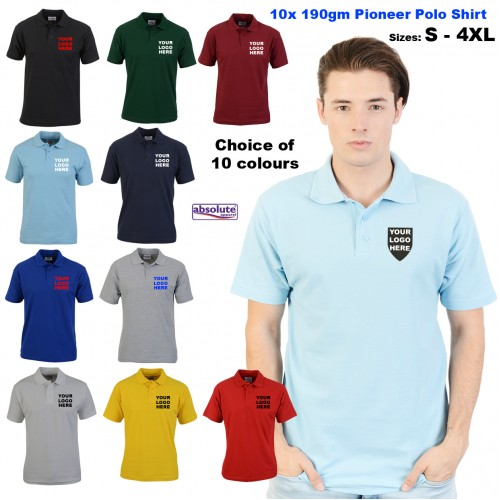 10 POLO SHIRTS FOR £70