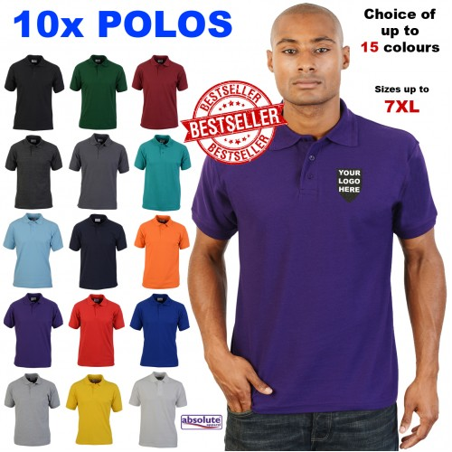 9a9d0db5f 10 POLO SHIRTS FOR £70
