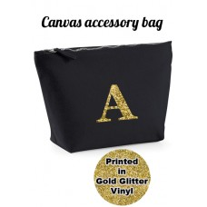 A - Z Choose Your Initial Accessory Bags