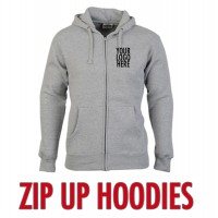 Classic Zip Up Hood 300gm