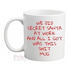 Secret Santa Shit Xmas Mug