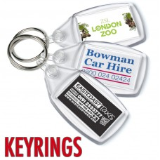 Custom Printed Keyrings