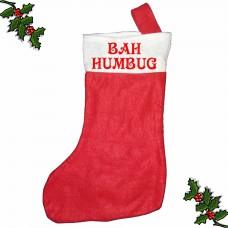 BAH HUMBUG Xmas Stocking  *FREE DELIVERY*