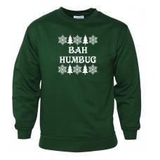 Bah Humbug - Green Sweatshirt